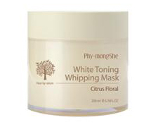 Отбеливающая маска White Toning Whipping